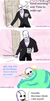 Undertale comic: Dadster by atomicheartlight