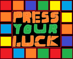 Cartoon Press Your Luck Board by AnimationRanking01