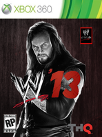 WWE '13 Custom Cover Undertaker by HARDTAKER