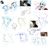 POTC Comedy Sketches And Scribbles by warrior-oji