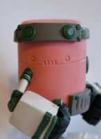 MCM Rusty Robots Show Special 2012 Red Tribe WIP by SpaceCowSmith