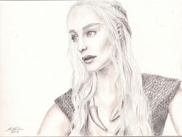 Mother of Dragons by ladyatropos