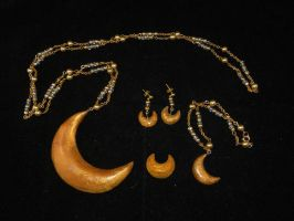 Human Luna jewelry by starlit-creations