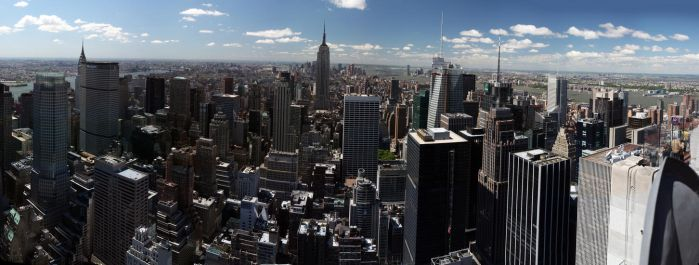 Most Huge Panorama of New York by xnoux