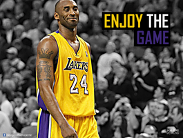 Kobe Bryant I Enjoy The Game Collection by RafaelVicenteDesigns