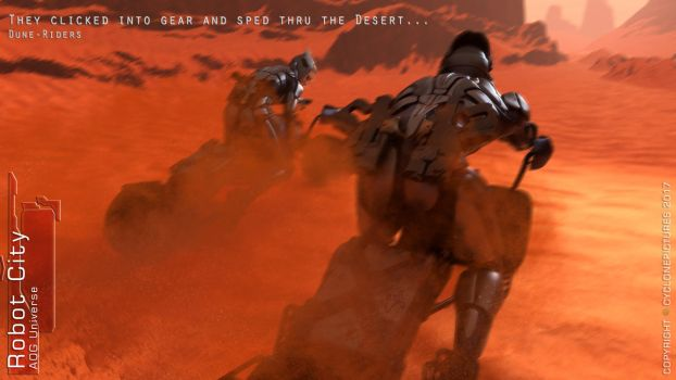 RCBk1Chapter4 - Dune Riders - Free Poster by AOGRAI