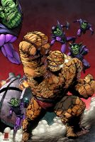 The Thing by Soriano/Shoveke colored by Dany-Morales
