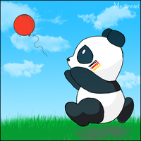 I really love Panda by medlinniel