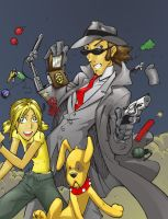 Inspector Gadget by lroyburch