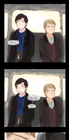 post-reichenbach meeting by sigalawin
