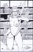 Barbarian Librarian by storyteller1023