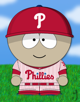 South Park Phillies Baseball by JayJaxon