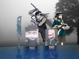 Cubeecraft Zabuza Haku by RatedrCarlos