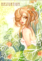 Nasturtium by April-Lily