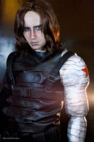 COSPLAY - Winter Soldier IV by MarineOrthodox