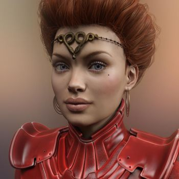 Lady Jessica - portrait on Arrakis by Livius70