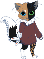 Sweatercats Commission: KeratinWing (Mercury) by ColorMyMemory