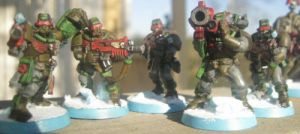 Spade Marine Scouts by Chaplain-Seraphi