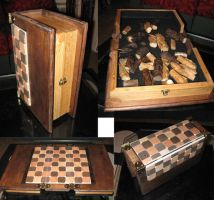 Chess Set - board by Tahirbrown
