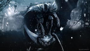 Batman Arkham Origins Wallpaper by TheSyanArt