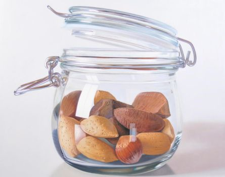 Nuts in glass ll by ruddy84