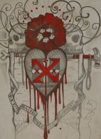 pencil and ink by resonanteye