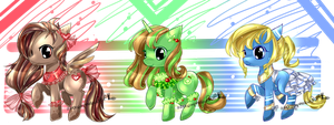 MLP pony adopts auction CLOSED by AquaGalaxy
