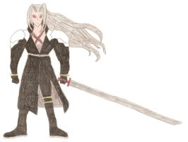 Sephiroth by DoctorEvil06