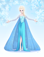 The Sassy Snow Queen by ShionXeriawind