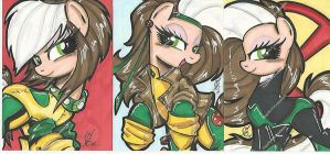Rogue Pony Commission by PonyGoddess