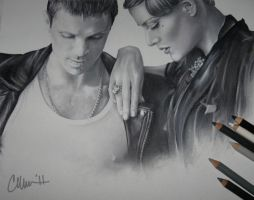 Scissor Sisters Drawing by Live4ArtInLA