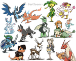 Pokemon Requests by TariToons