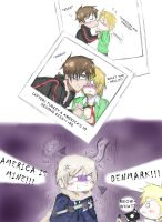 APH - Kiss for the Picture Plz by YizelePhantom