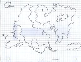 Thaamal World Map by TheNerdChef