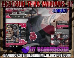 Kakuzu Theme Windows XP by Danrockster