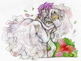 Just Married by vern-argh