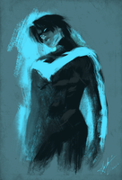 Nightwing by mattcha