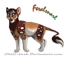 Feralsnarl design commission by DancingfoxesLF