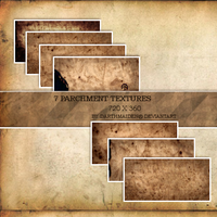 Parchment Textures by DarthMaiden