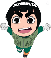 Rock Lee -SD- by Krizeii