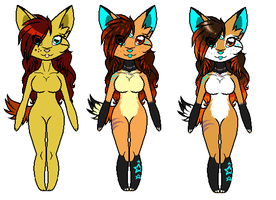 Amber Colors Through The Years by SwiftpawTheWolf