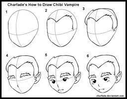 How to Draw Chibi Vampire by charfade