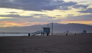 Santa Monica Beach by ImaginaryNonSens