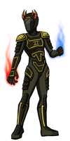 ft sollux: space armour by quixocalypse
