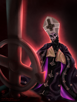Papa Emeritus III by Vivern-of-Nosgoth