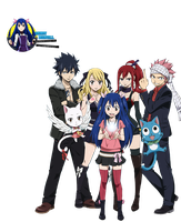 Render Fairy Tail Grupal (1) by WendyMarvell01