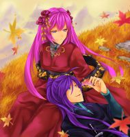 Autumn Gaku and Luka by Mitsukiven