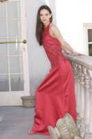 Red Gown 5 by JasmineBelle