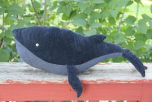 Humphrey the Little blue whale by windyautumnmoon