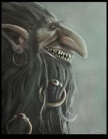 Trudvang troll by mawgallery